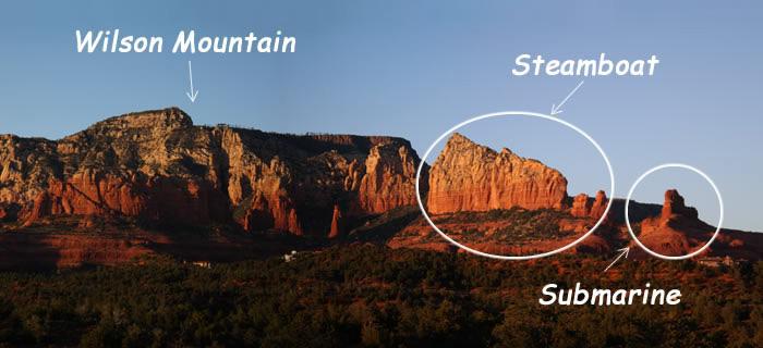 Sedona Red Rock Views - Wilson Mountain