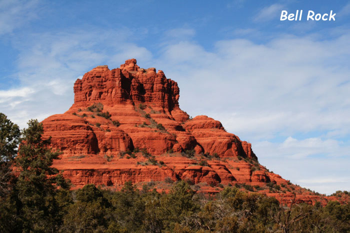 Sedona Red Rock Formation - Bell Rock